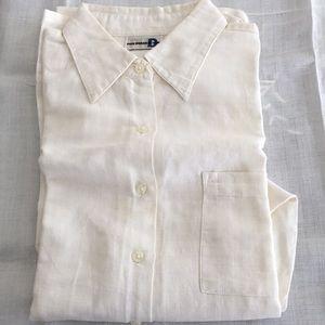 Woman's Paul Harris White long sleeve shirt